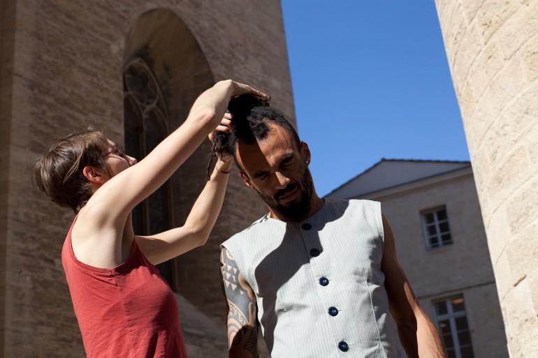 coiffure modèle 1