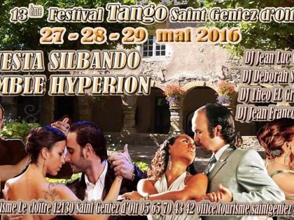 Festival Tango de Saint Geniez d'olt